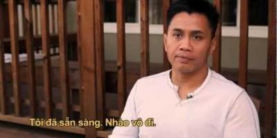 Документальный фильм о Кунг Ле с отрывком из боевика Dragon Eyes