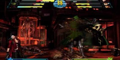 Трейлер Marvel vs Capcom 3