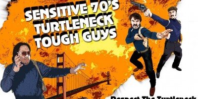 "Короткометражный фильм ""Sensitive 70s Turtleneck Tough Guys - The Movie"" 2"