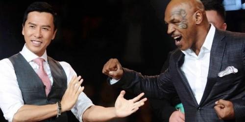 """Донни Йен против Майка Тайсона! Фото с пресс-конференции, посвященной """"Ип Ман 3"""" 1"""