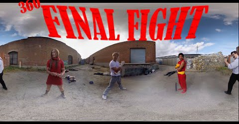 "Панорамный бой ""360 Final Fight"" от EMC Monkeys"