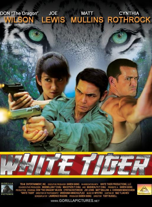 White Tiger Poster - 1