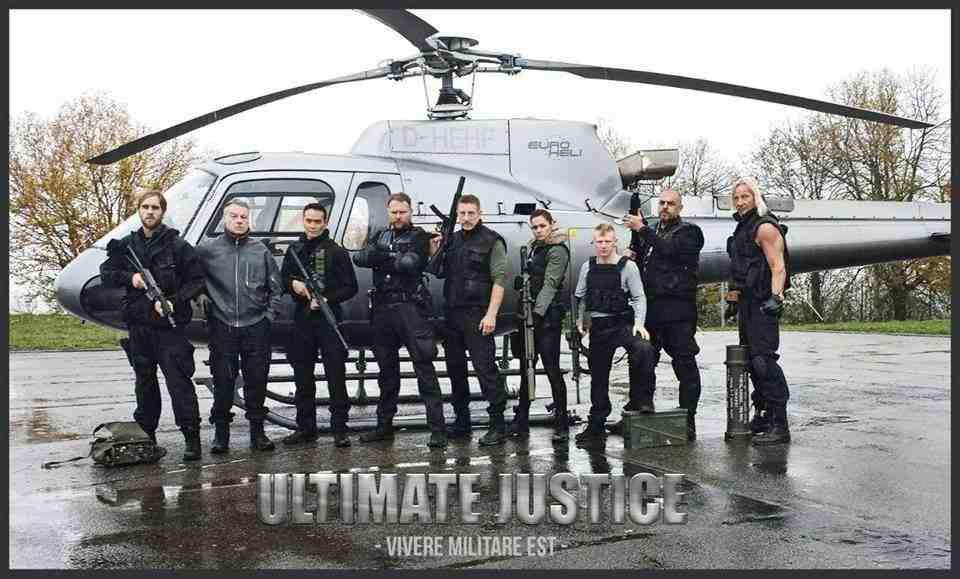 "Марк Дакаскос, Майк Мёллер в тизере ""Ultimate Justice"""