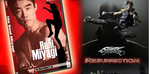 """""""Настоящий Мияги"""" на DVD + трейлер """"Street Fighter: Resurrection"""""""