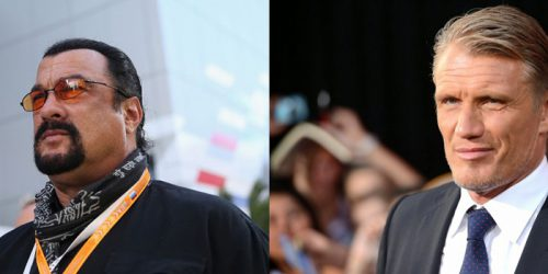 """Стивен Сигал и Дольф Лундгрен в совместном проекте """"Смертельный арсенал"""""""