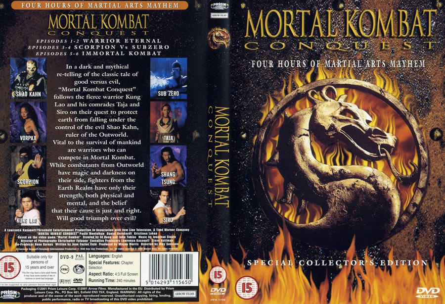 Mortal Kombat Conquest DVD 1