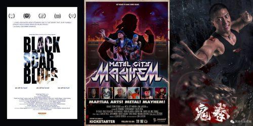 Трейлеры независимых фильмов: Black Scar Blues, Metal City Mayhem и Gui Quan 8