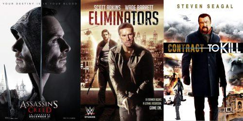 Трейлеры фильмов: Assassin's Creed, Eliminators и Contract to Kill 4
