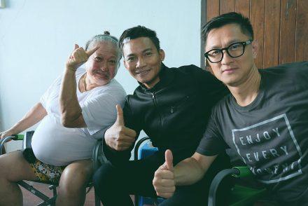 Фотографии со съемочных площадок «Парадокс» с Тони Джа и «В погоне за драконом» с Донни Йеном