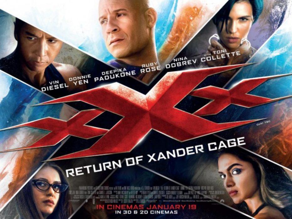 Три Икса: Возвращение Ксандера Кейджа