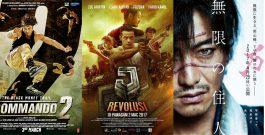 Трейлеры фильмов Commando 2, J. Revolusi и Blade Of The Immortal