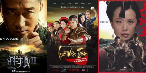 Трейлеры фильмов Wolf Warrior 2, Lục Vân Tiên: Tuyệt Đỉnh Kungfu и Lord of Shanghai 10