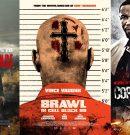 Трейлеры фильмов «Обет молчания», «Драка в блоке 99», «Копы и грабители»