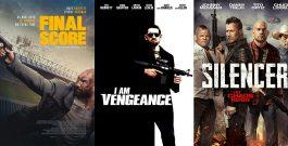 Трейлеры фильмов «Окончательный счет», «Я есть возмездие» и «Глушитель»