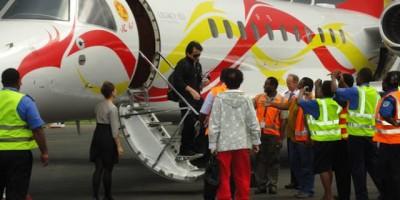Джеки Чан прибыл в Вануату