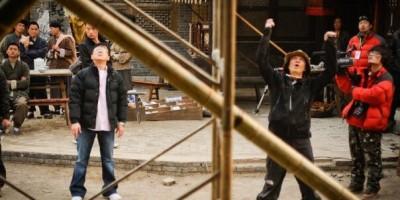 """Джеки Чан с женой побывал на съёмках """"Великого мага"""""""