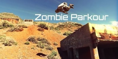 Ролик с зомби-паркурщиками от CBR Stunt Team