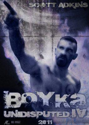Постер фильма Boyka: Undisputed 4, сделанный фанатами