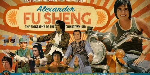 """Интервью с автором книги про Александра Фу Шена, """"Биография малыша из китайского квартала"""" 1"""