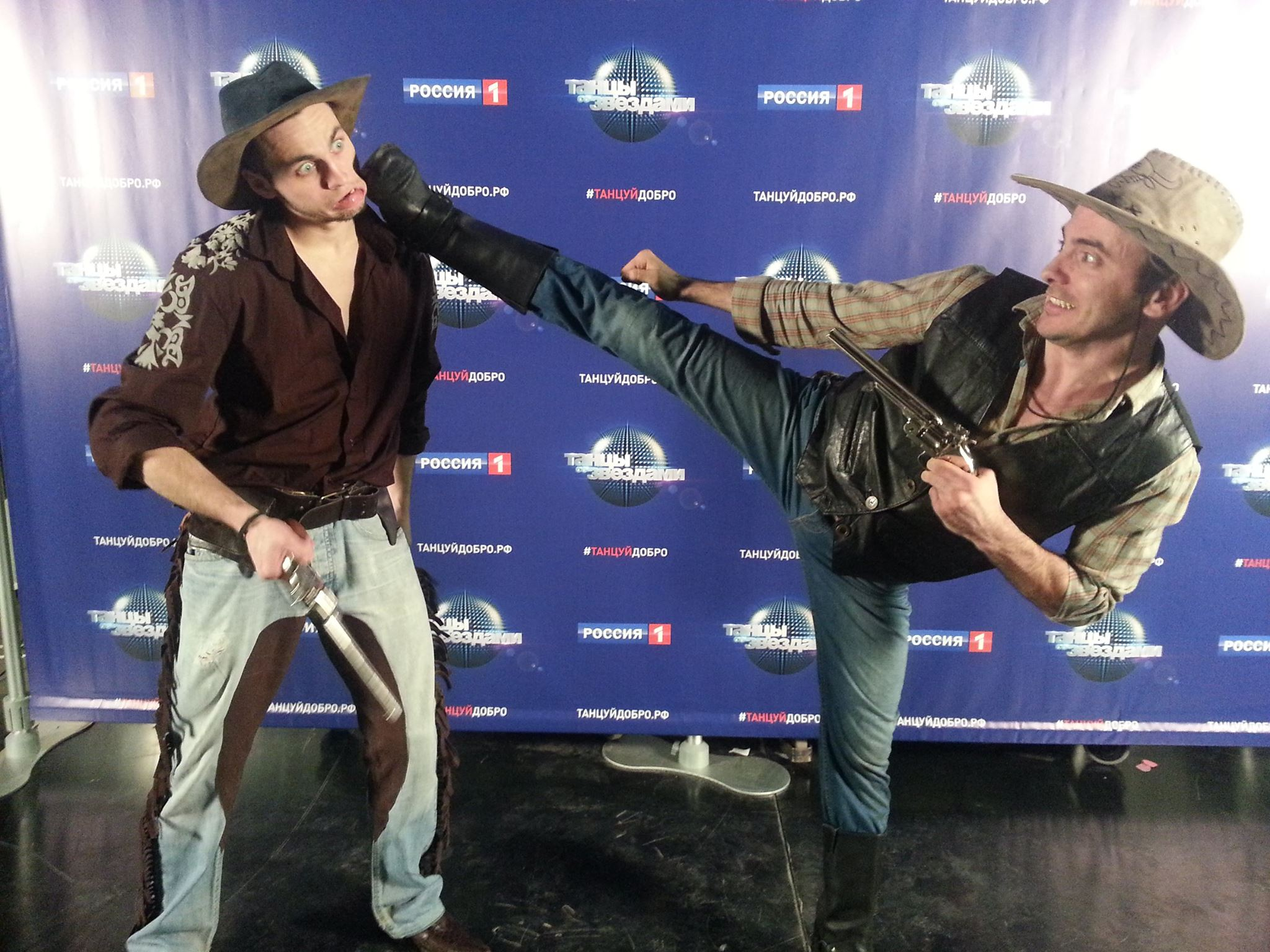 Русская команда каскадёров Сергея Морина - Dragon Brothers (DB) 7