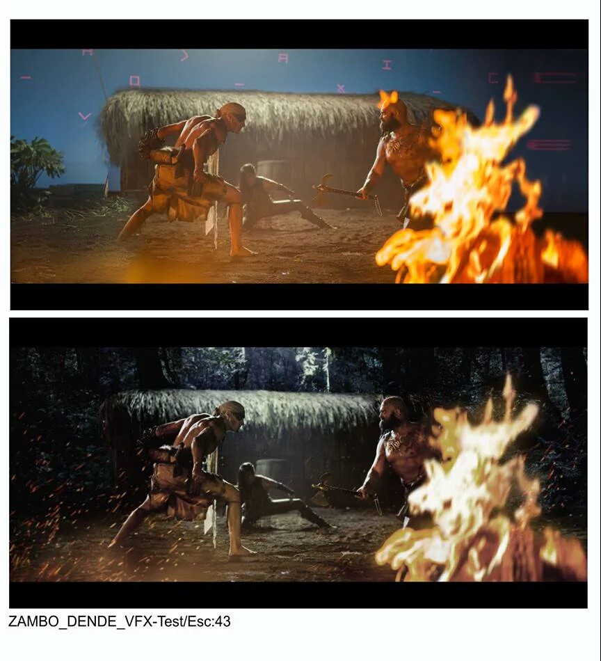 "Тизер ""Бойцовской долины"" и фото со съемок ""Zambo Dende"" 2"