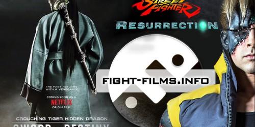 """Два интригующих трейлера: """"Крадущийся тигр, затаившийся дракон 2"""" и """"Street Fighter: Resurrection"""""""