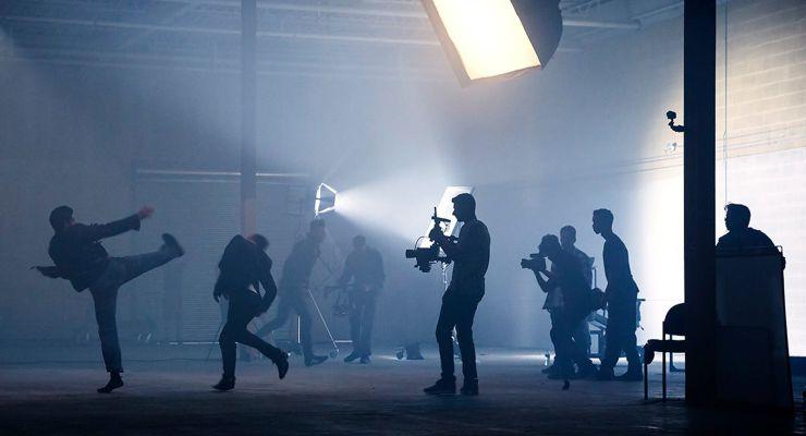 "Промо-видео и фото со съемочной площадки боевика ""Французский Дракон"" 3"