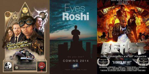 Трейлеры независимых фильмов: The Danger Element, Eyes of the Roshi и Beast: The Chronicles Of Parker 1