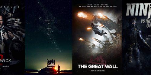 Промо-видео с NYCC-2016: John Wick: Chapter 2, Power Rangers, The Great Wall и Ninjak VS. The Valiant Universe 15