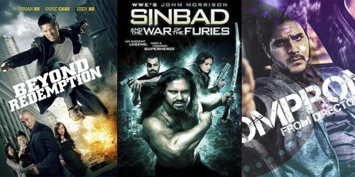 Трейлеры независимых фильмов Beyond Redemption, Sinbad and the War of The Furies и Uncompromised 3