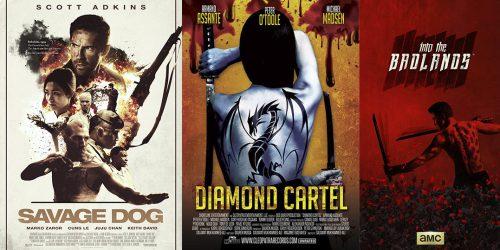 """Трейлеры фильмов """"Дикий пёс"""", """"Бриллиантовый картель"""" и второго сезона сериала """"В пустыне смерти"""" 2"""