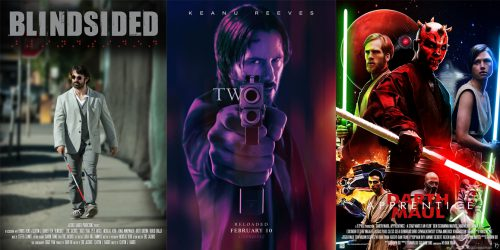 Короткометражные фильмы: Blindsided, John Wick Origins: Kirill и Darth Maul: Apprentice 4